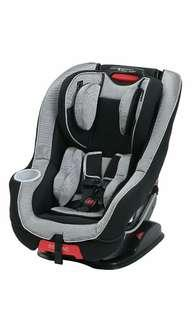 Brand New Graco Size4Me 65 Convertible featuring Rapid Remove Car Seat - Matrix