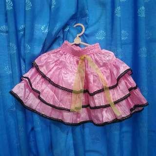 Rok Mini Skirt Anak Perempuan Balita Pink Bekas Second Preloved Murah Pesta Party Miniskirt