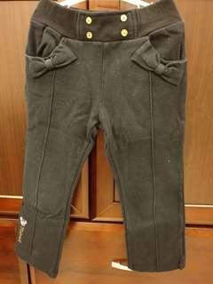 🚚 麗嬰房米妮水鑽厚棉長褲(4號)