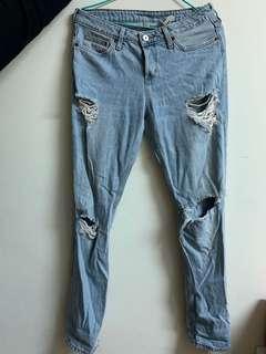 🚚 H&M牛仔褲
