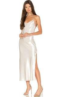 Bardot Pfeiffer Shine Maxi Slip  Dress BNWT