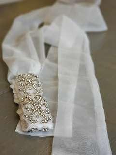 Bridal Crystal Sash / Belt