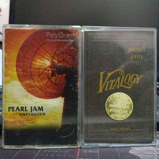 Pearl Jam Combo - Unplugged 1998 / Vitalogy 1994