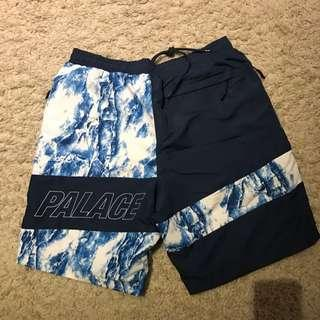 🚚 全新現貨 Palace Skateboards Madara Shell Short 短褲 深藍色L
