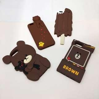BRAND NEW 8plus 7plus 6splus 6plus brown bear ice cream case