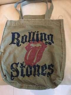 Rolling Stones Cloth Bag