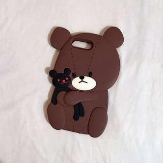 BRAND NEW 8plus 7plus 6splus 6plus bear iphone case