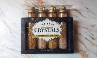 Sephora bath crystals