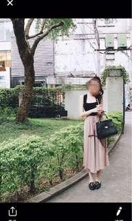 🚚 二手 杏色棉質寬褲 材質超舒服~ 售價400$