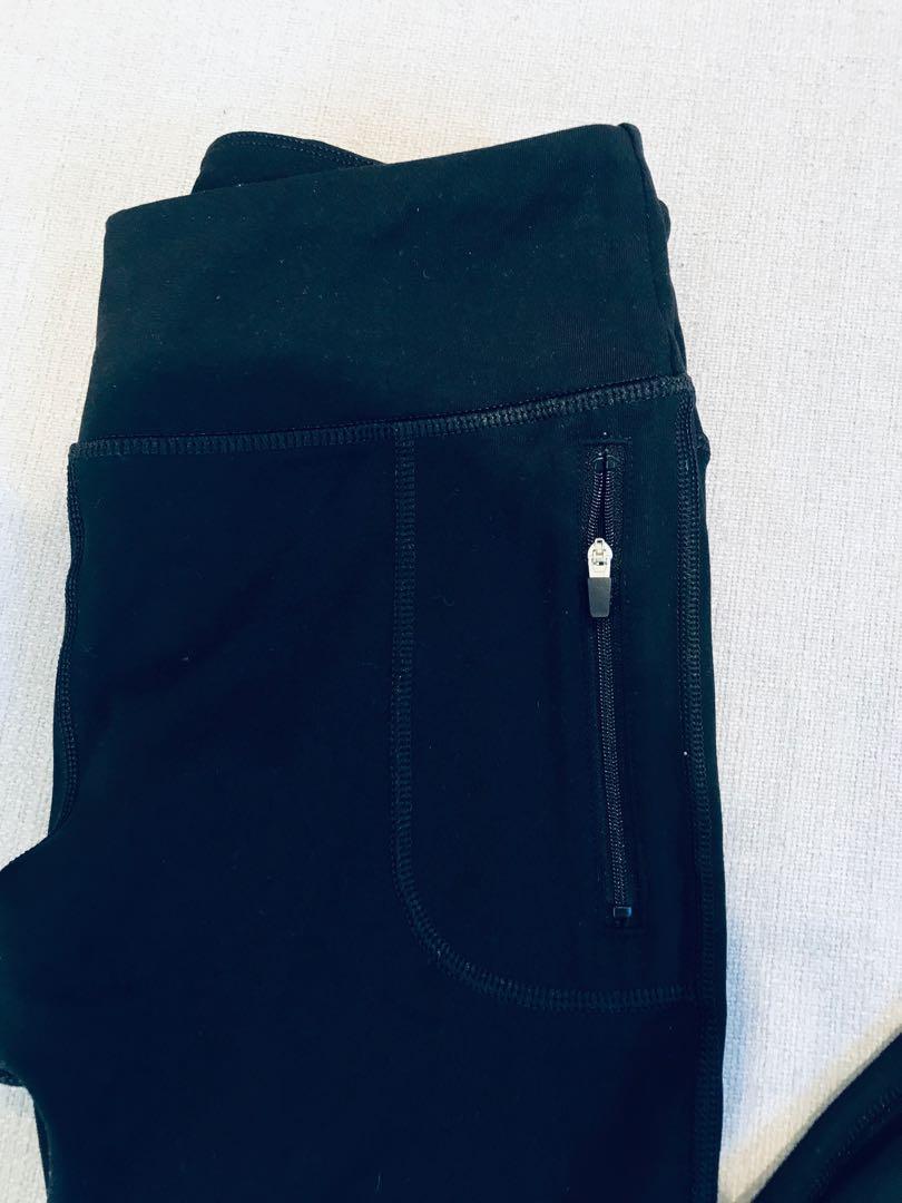 2x black Lorna Jane tights