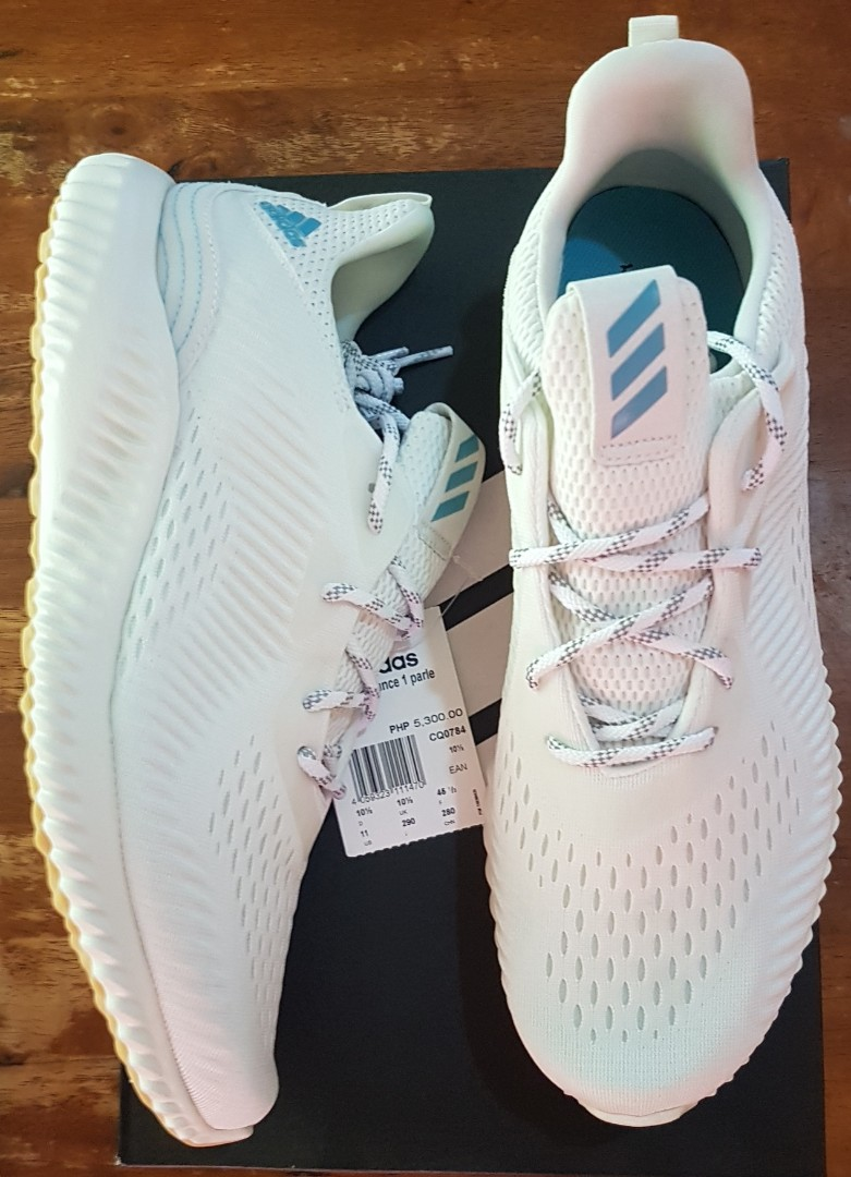 Adidas Alphabounce 1 Parley running shoes size 11 US for men f9d9f55d0