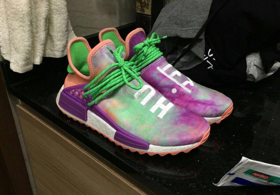 d67ecfdd85973 adidas Human Race NMD Pharrell Holi Festival (Chalk Coral)