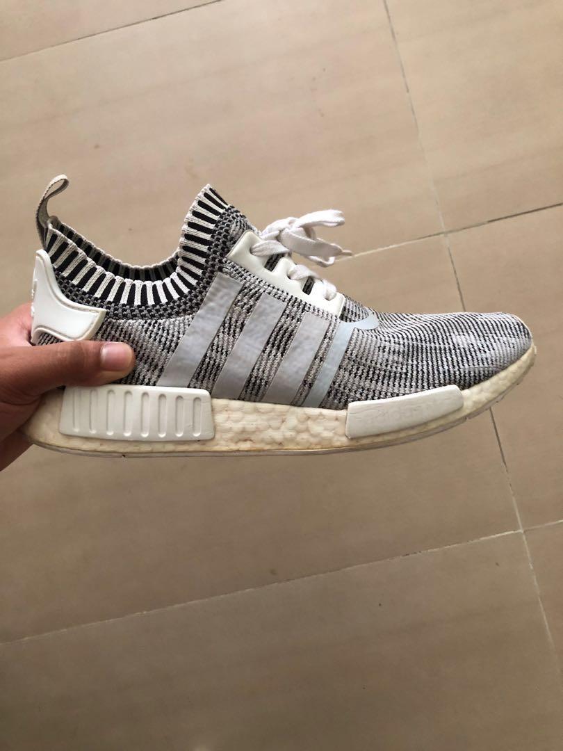 2e8a8dd47 Adidas NMD R1 Glitch Camo White Black