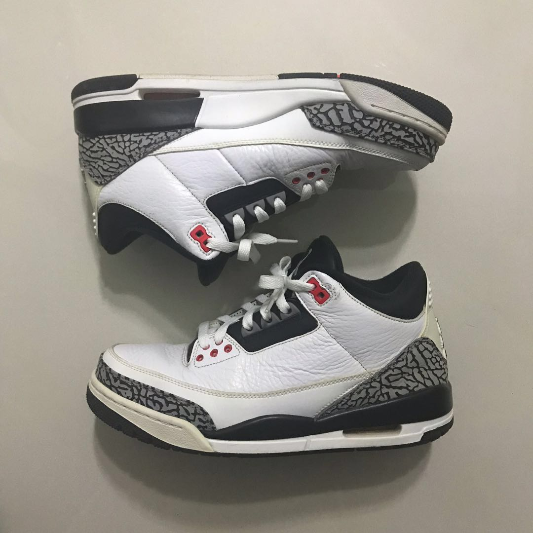84d6284552aa Air Jordan 3 Infrared US 8
