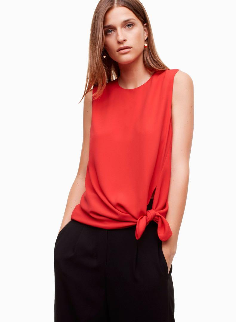 Aritzia Babaton Hopkins Blouse - M