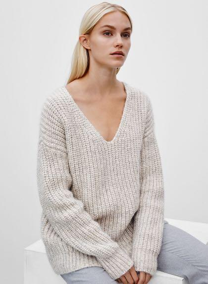 Aritzia Oversized Italian Wool Sweater- XS