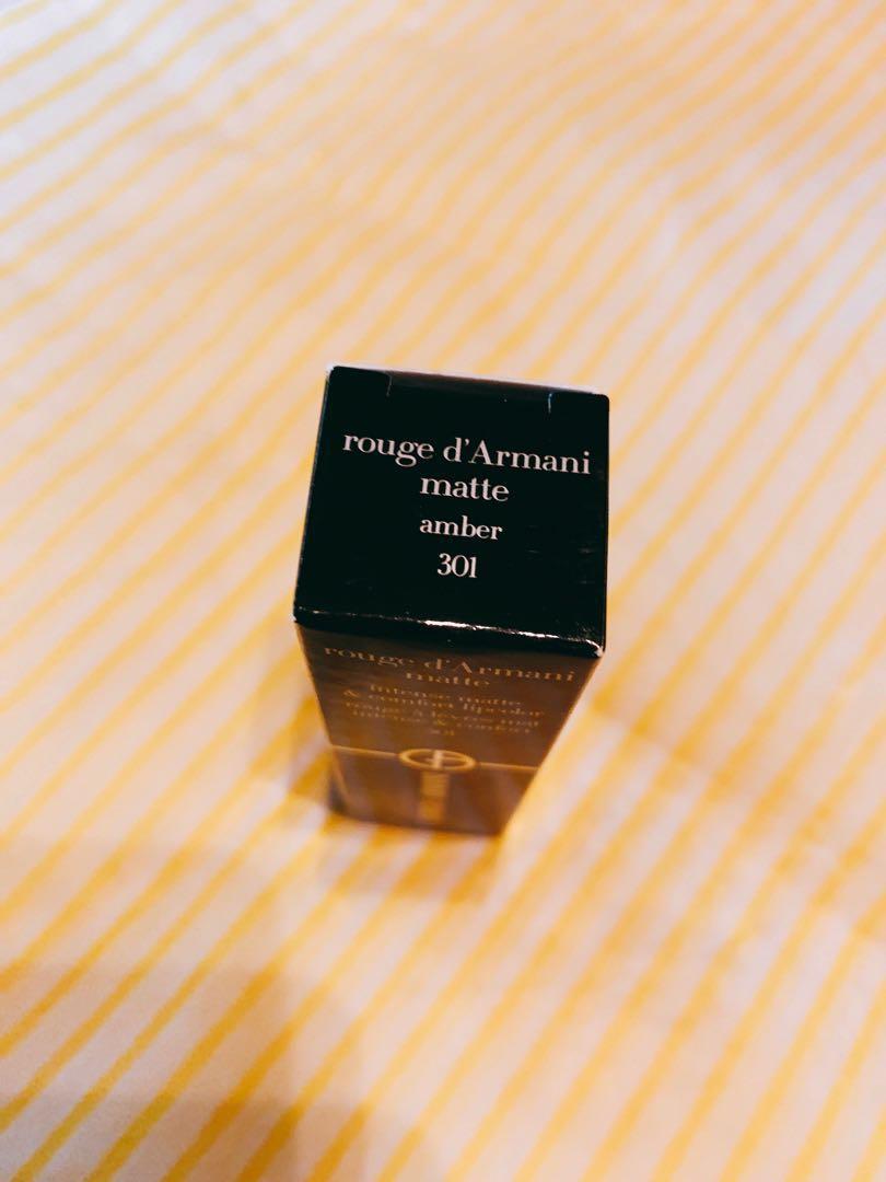 Armani Beauty Rouge D'Armani Matte Lipstick color 301