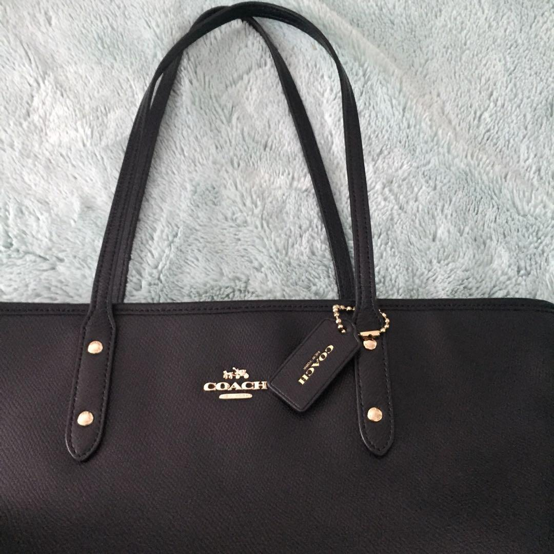 Authentic coach tote bag purse Medium