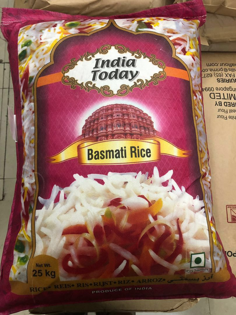Basmati rice 25kg, Food & Drinks, Instant Food on Carousell