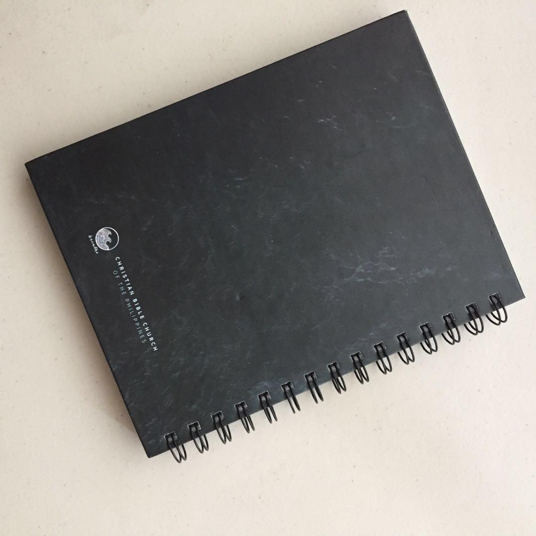 Beautiful Notebook w /Inspirational Quote - hardbound dotted pages w/ FREE BALLPEN