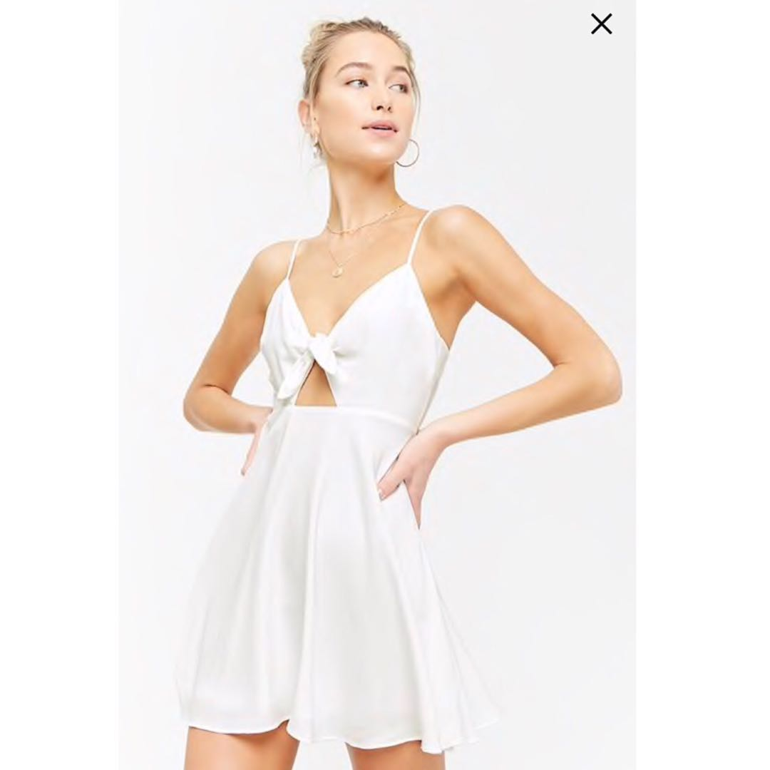 c14ec3c6 BN] Forever 21 Fit & Flare Cami Dress, Women's Fashion, Clothes ...