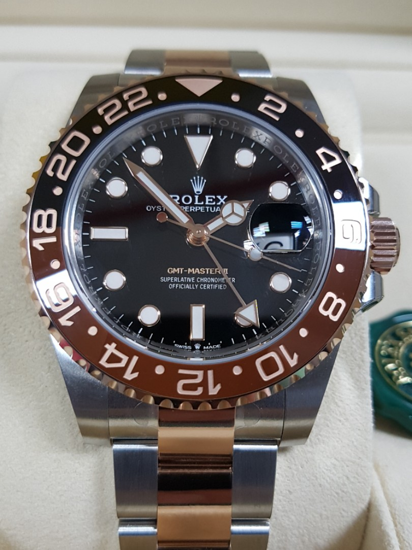 Brand New Rolex Gmt Master Ii 126711chnr Rootbeer