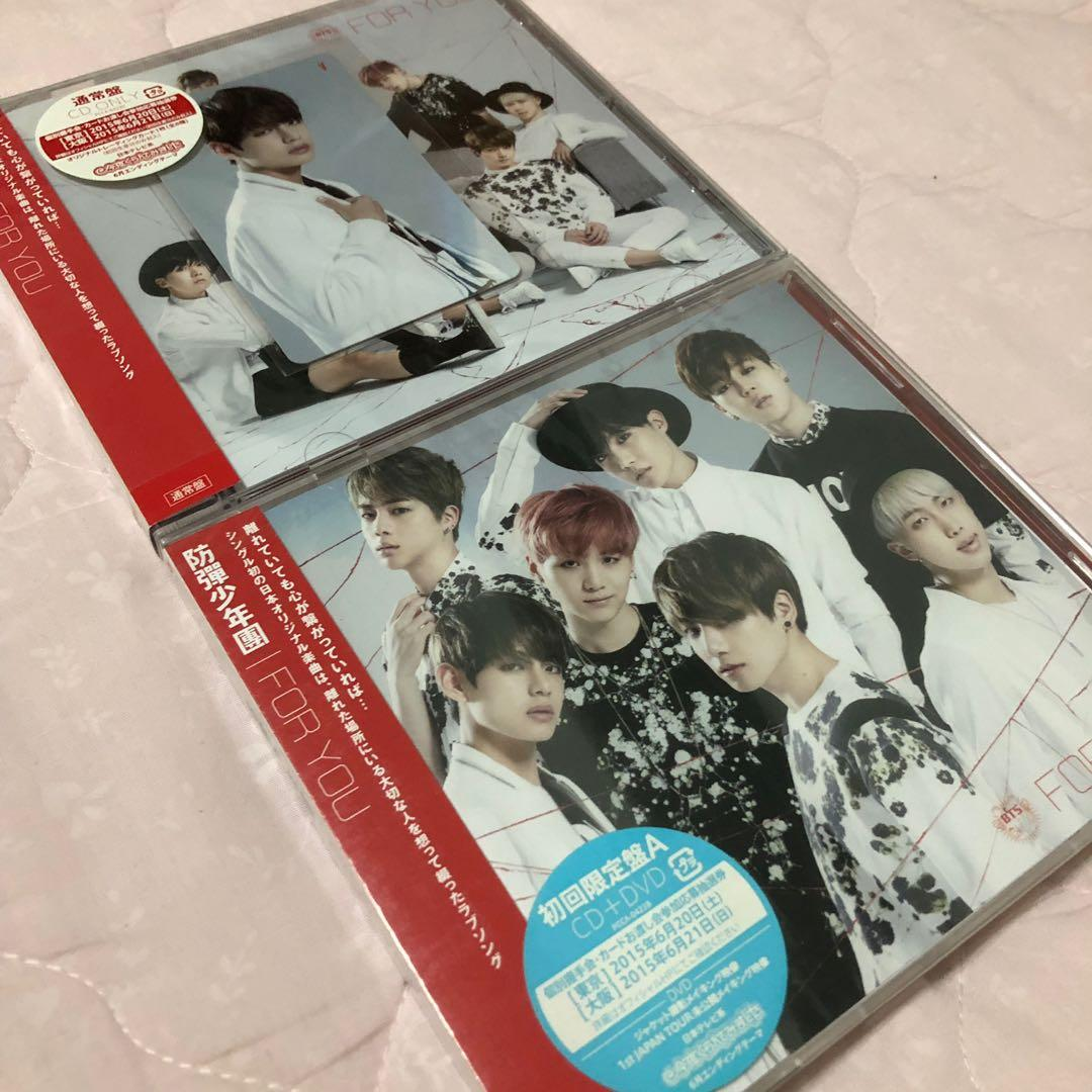 BTS For You Japanese Album With V Photocard, Entertainment