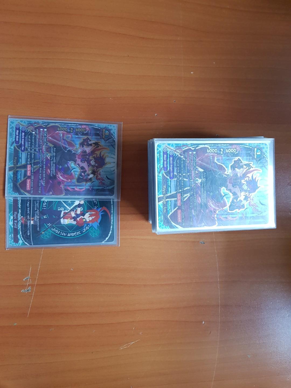 Buddyfight mystic knights deck