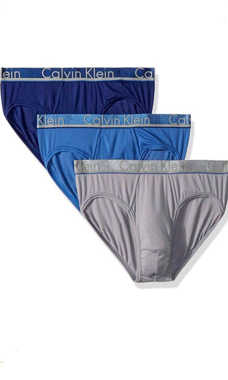 1b80d6c4bd98 Calvin Klein Underwear 3-Pack Hip Brief, Men's Fashion, Clothes ...