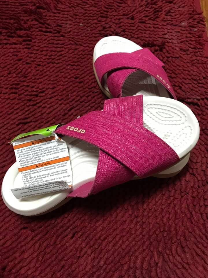 86651af42 Capri Shimmer xband sandal w paradise pink oyster relaxed fit ...