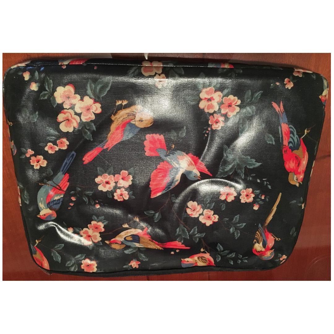 Cath Kidston 15inch Laptop case with floral bird design