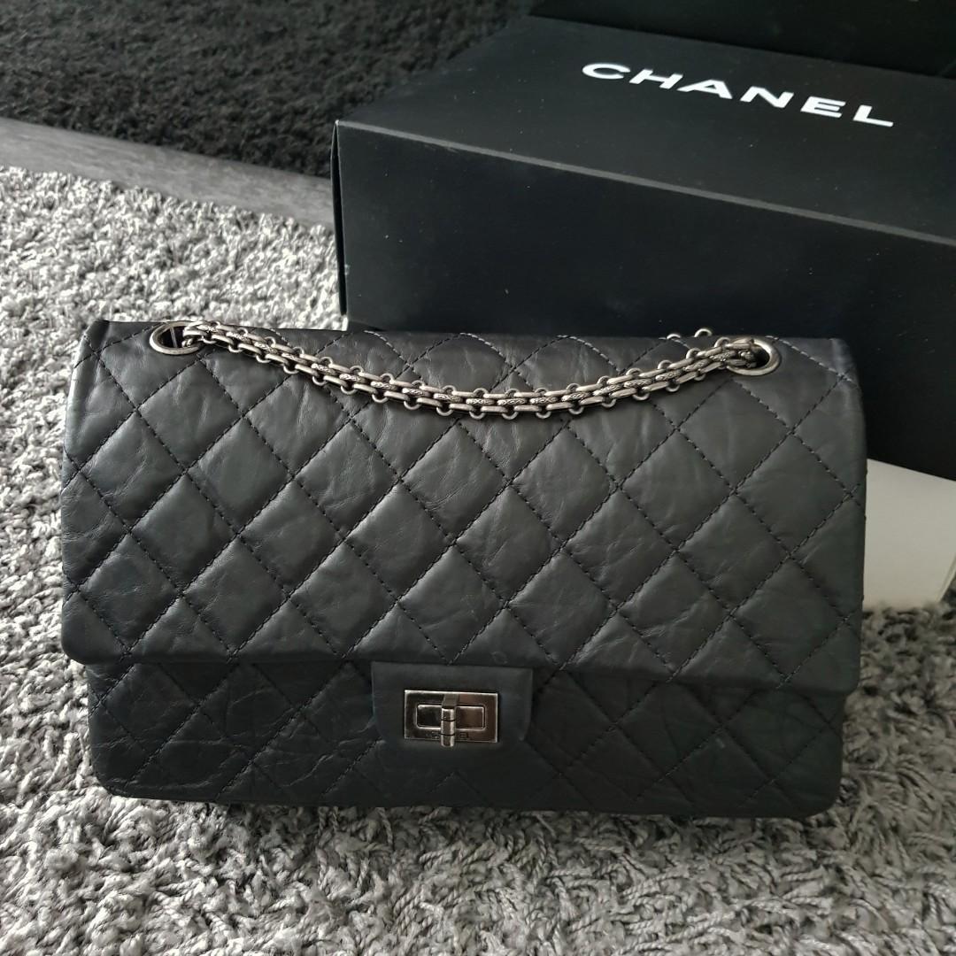 b2de01fad51f Chanel 2.55 Reissue 226, Luxury, Bags & Wallets, Handbags on Carousell