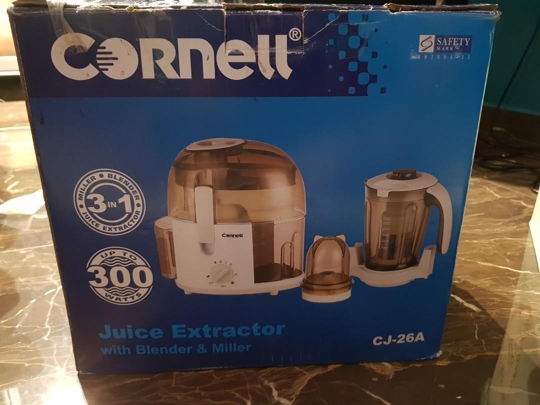 Cornell Juice Extractor With Blender & Mixer