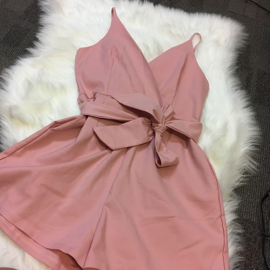 Darby Playsuit - pink