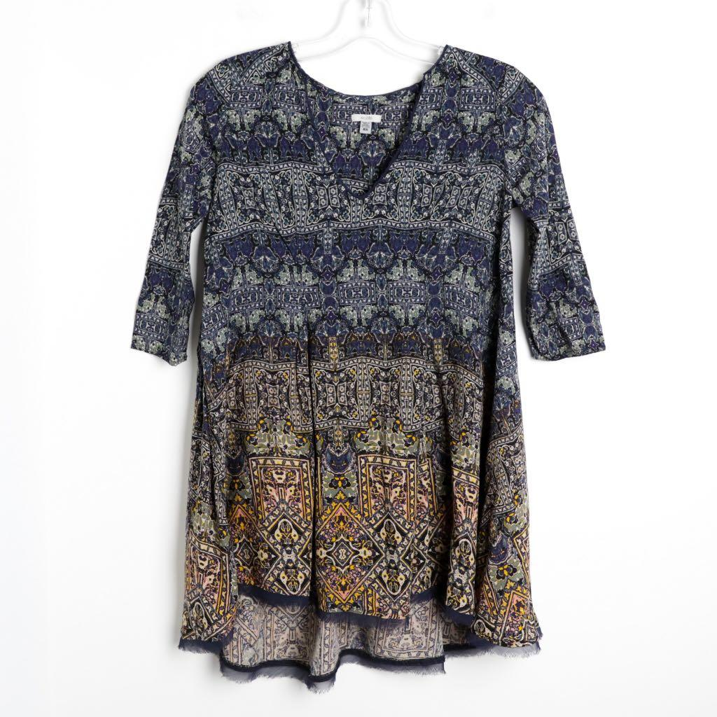 Ecote Urban Outfitters XS boho short mini dress tunic dress