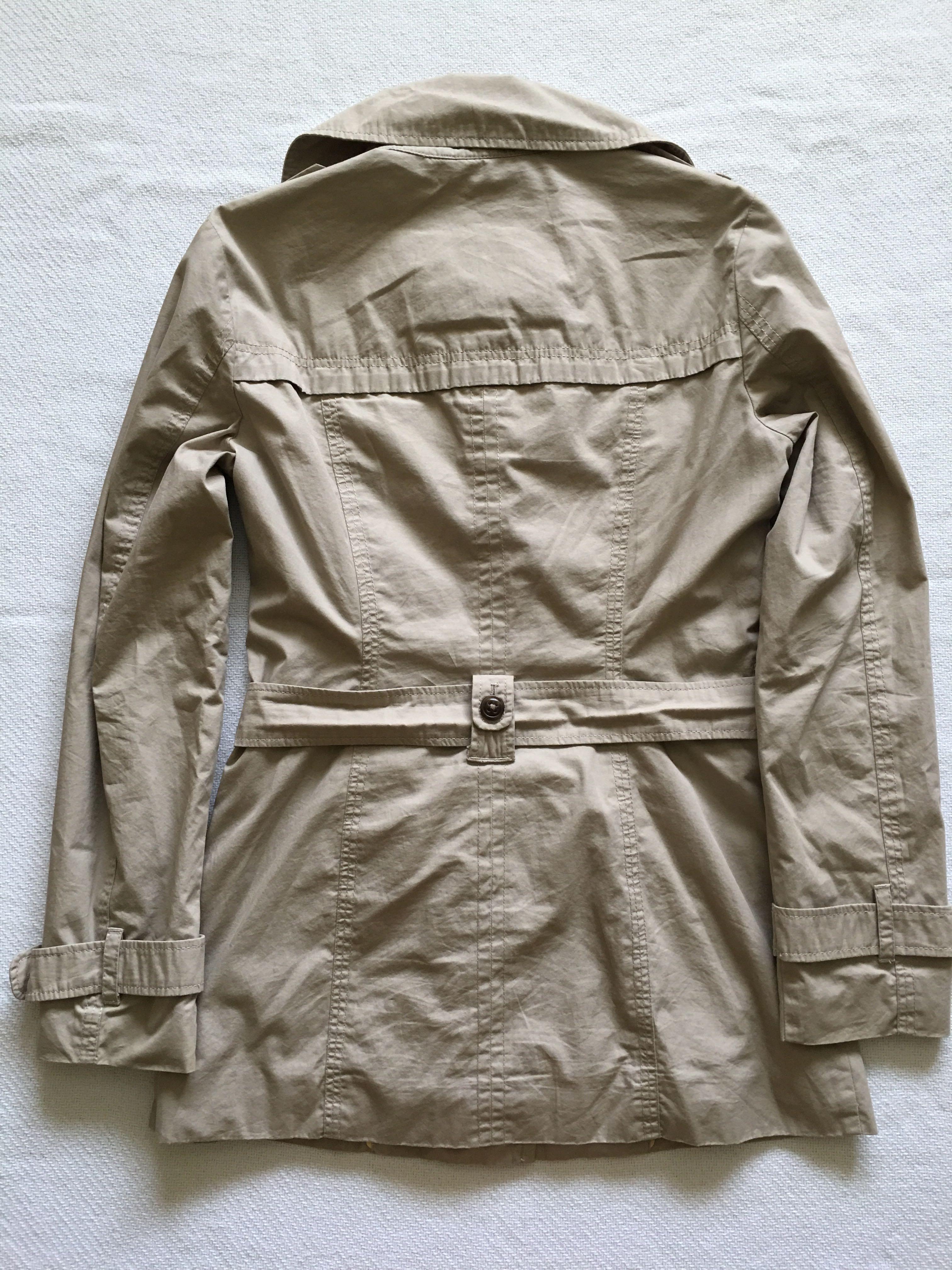 Esprit beige short trench coat - Size 4