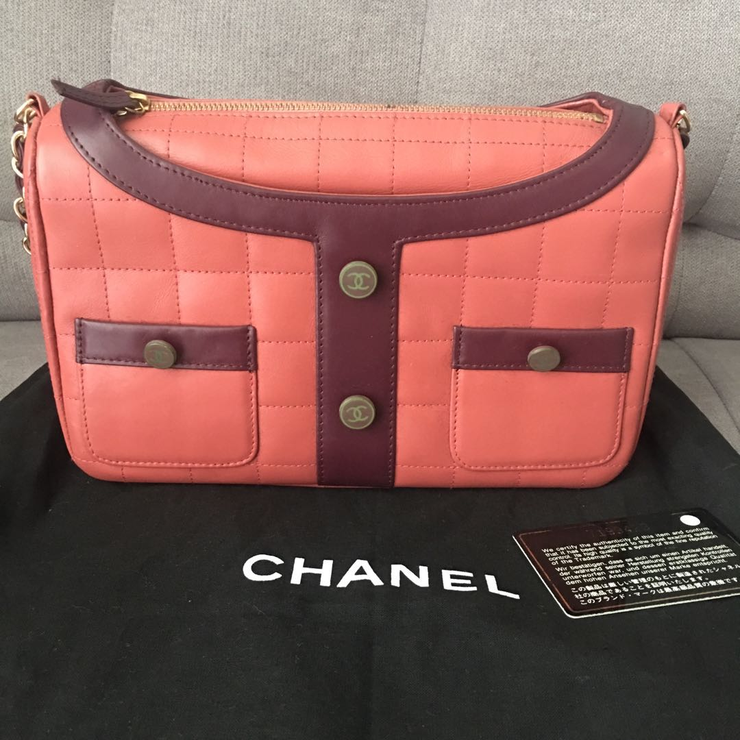 d902d8f59e40 Fast deal 2900) RARE Limited Edition Chanel Madamemoiselle Quilted ...