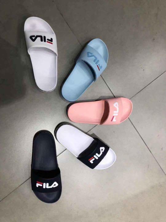 cd083342 Fila Drifter Slider Tapey Tape, Women's Fashion, Shoes ...
