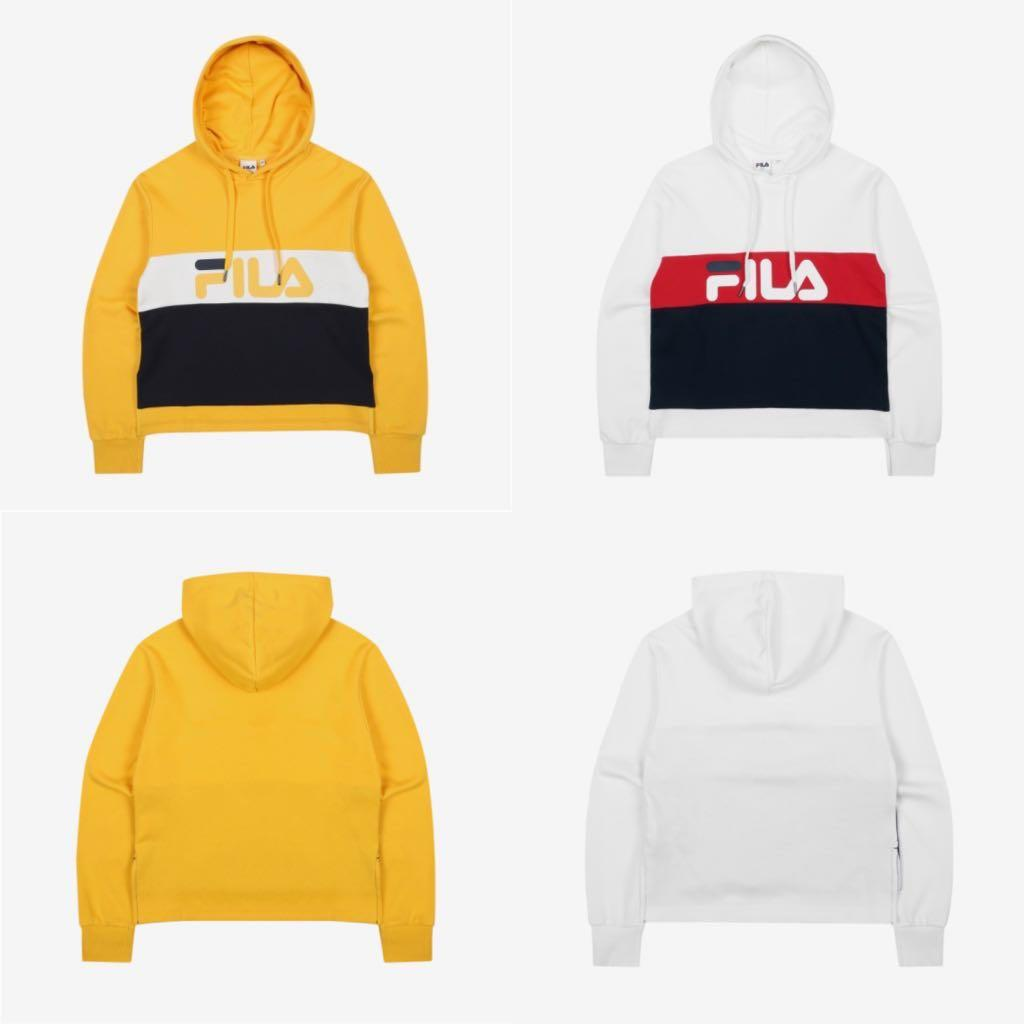 77379438 Fila Women Cropped Hoodie, Women's Fashion, Clothes, Tops on Carousell