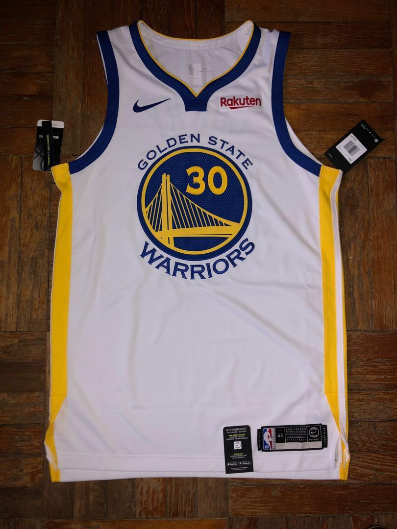 free shipping 16371 2dad4 Golden State Warriors Stephen Curry Nike Authentic Jersey