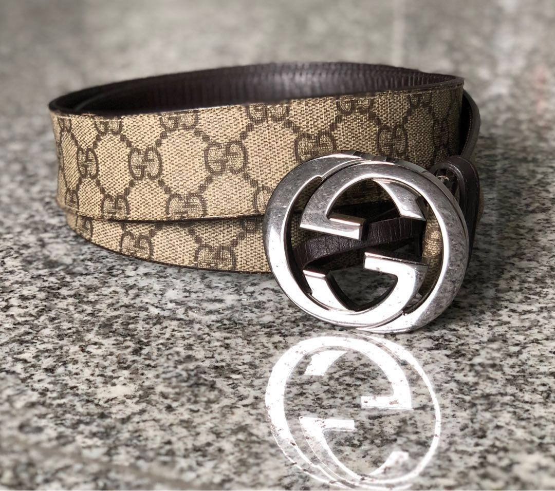 1bb0d2d075e Gucci - GG Supreme Belt Men