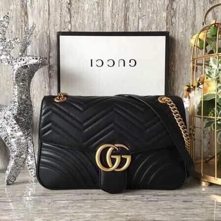 b4cb987c3 Gucci Marmont Matelassé Medium Flap Shoulder Bag on Carousell