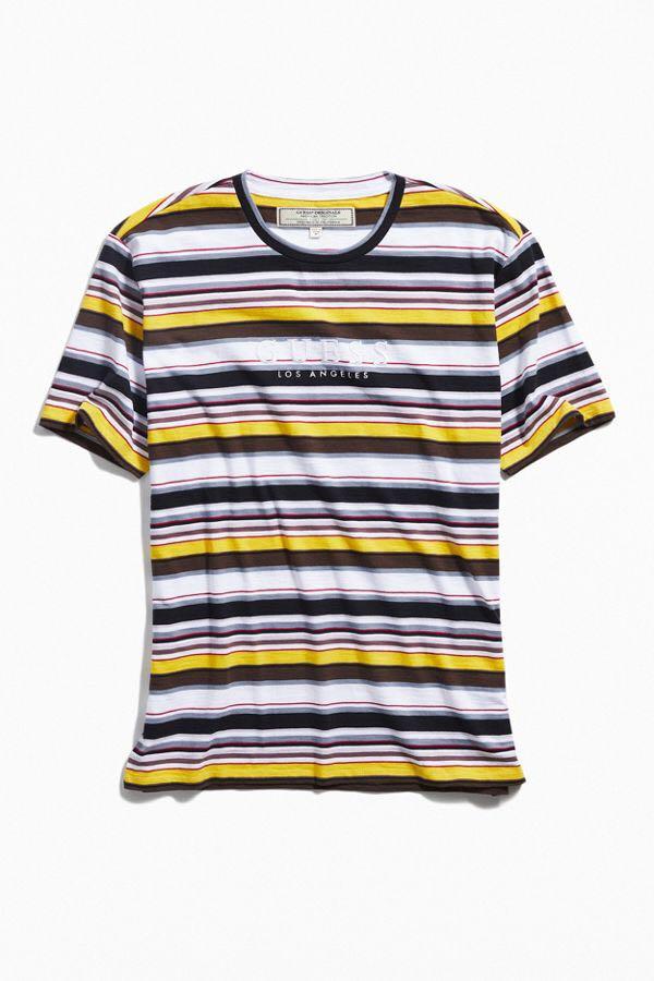 ff9cbb36c4 GUESS striped t-shirt BNWT, Women's Fashion, Clothes, Tops on Carousell