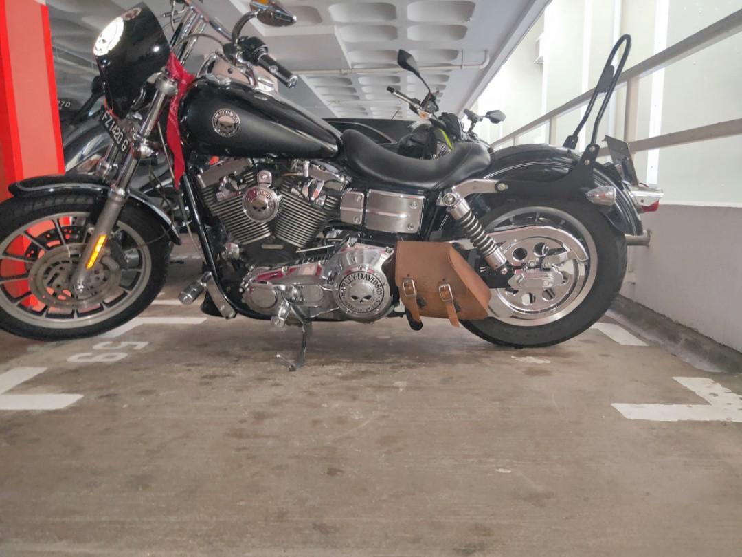 Harley Davidson Dyna FXDLI low rider 2005