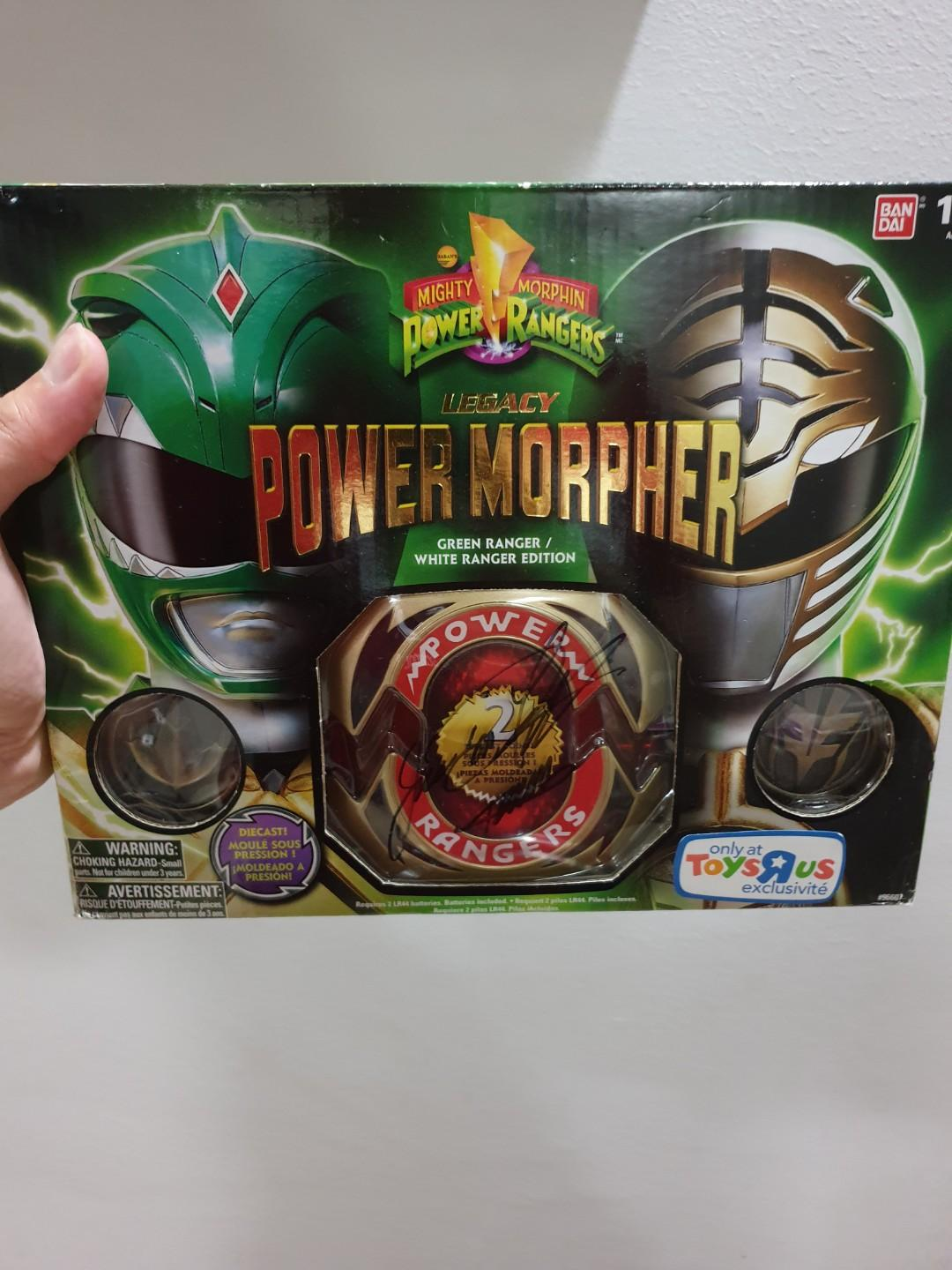 MMPR Mighty Morphin Power Rangers Legacy Set of 7 Figures Complete Set Tommy JDF