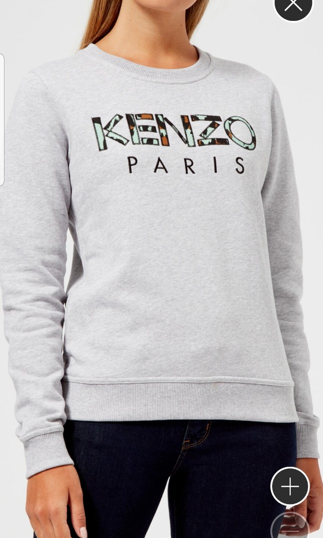 8cee9665 KENZO PARIS GRAY PULLOVER, Women's Fashion, Clothes, Outerwear on ...