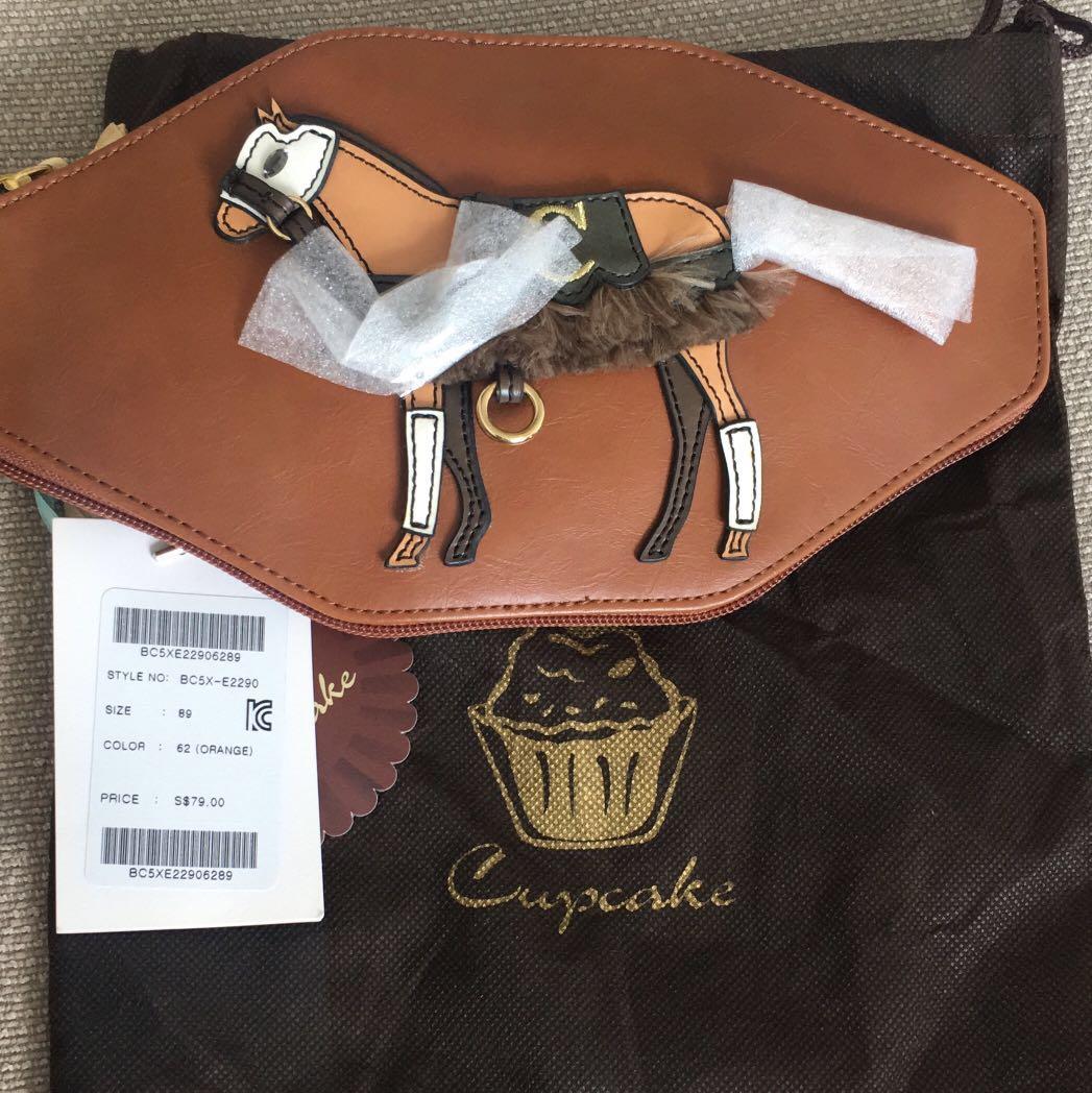 403fe6334b lapalette Cupcake Original Horse Shopper Tote Bag