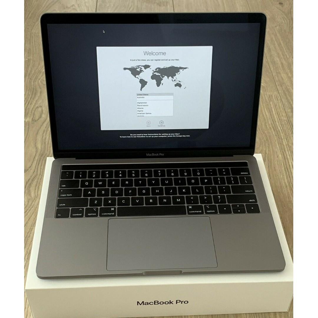 "Macbook Pro 13"" 2018 Touchbar Space Grey [i5 2.3GHz 8th Gen, 256GB SSD, 8GB]"