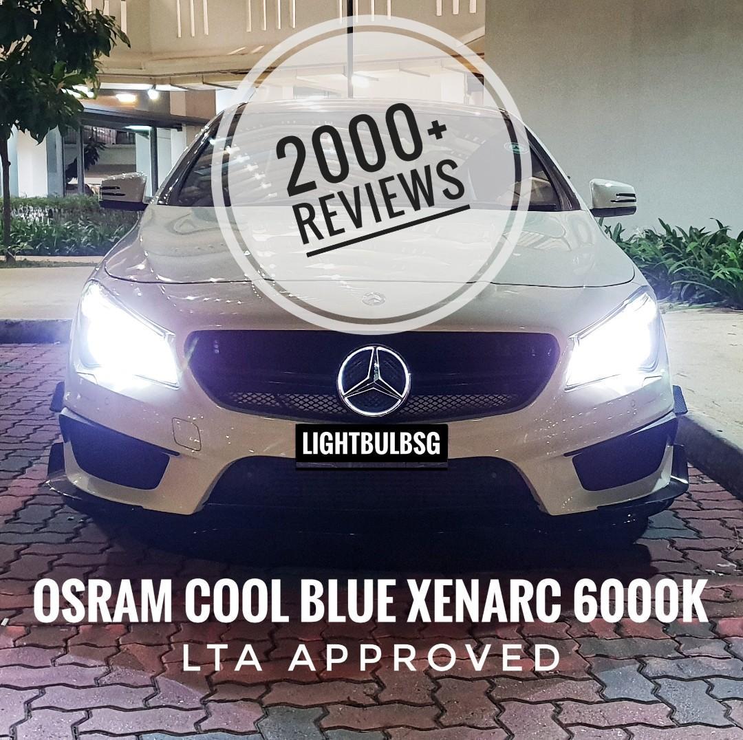 Mercedes Benz - Original OSRAM xenon HID 6000K legal white