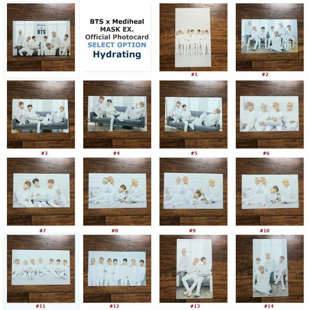 [Nego] BTS Official Photo Cards BTS x Mediheal Korea Army